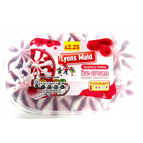 Lyons Maid Raspberry Pavlova PM £2.25
