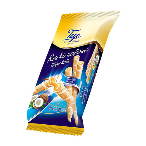 Tago Wafer Rolls Coconut Cream PM 89p