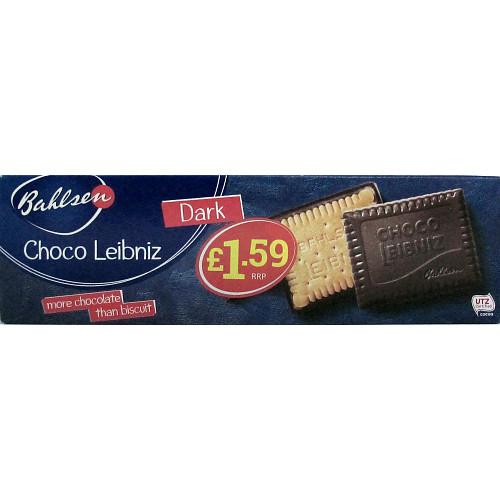 Bahlsen Leibniz Dark Chocolate PM £1.59
