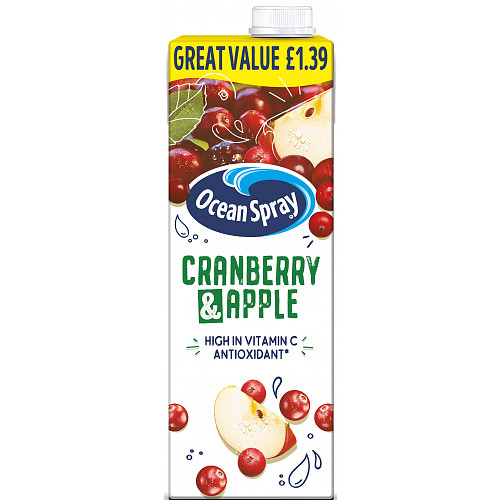 Ocean Spray Cranberry And Apple PM £1.39