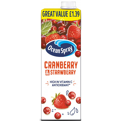 Oean Spray Cranberry And Strawberry PM £1.39