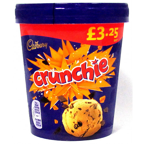 Cadburys Crunchie Tub PM £3.25
