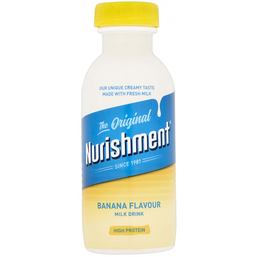 Nurishment The Original Banana Flavour Milk Drink 330ml