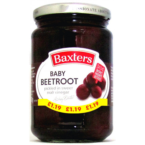 Baxters Baby Beetroot PM £1.19