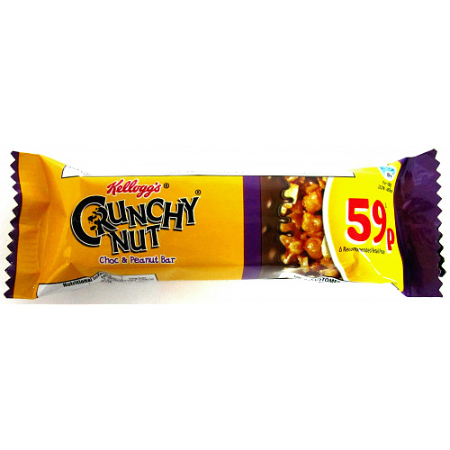 Kellogg's Crunchy Nut Cereal Bar PM 59p