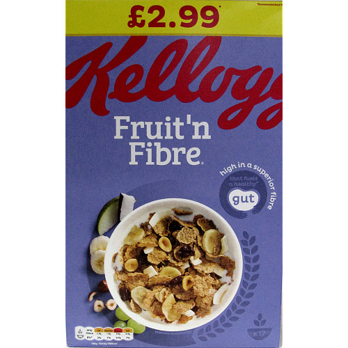 Kelloggs Fruit N Fibre PM £2.99