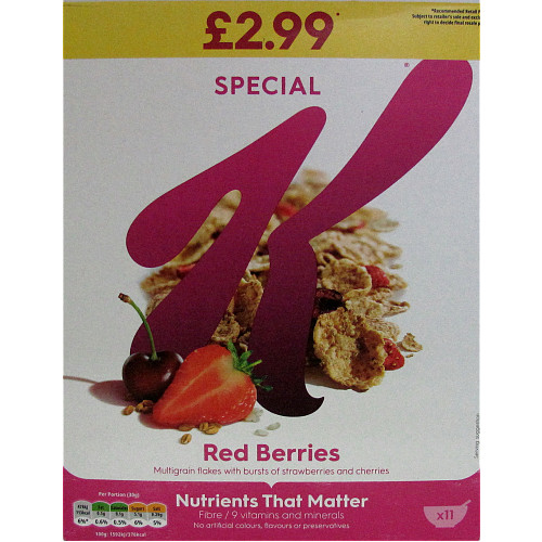 Special K Red Berries PM £2.99
