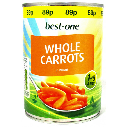 Bestone Whole Carrots PM 89p