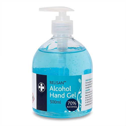 Relisan Alc Hand Sanitiser Gel