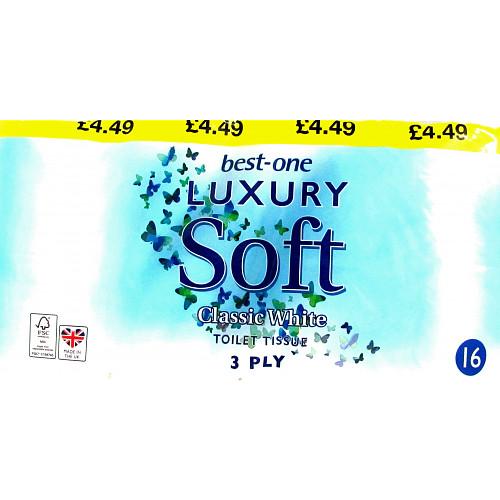Bestone Luxury Toilet Tissue PM £4.49