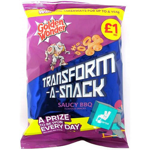 Golden Wonder Transform A Snack BBQ PM £1