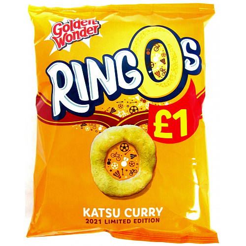 Golden Wonder Ringos Katsu Curry PM £1