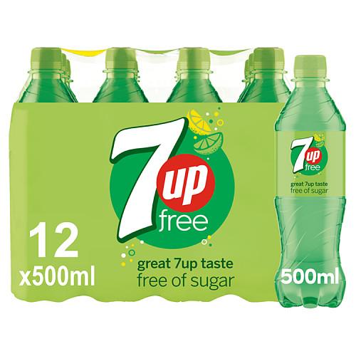 7UP Free 12 x 500ml