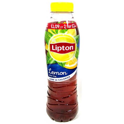 Lipton Ice Tea Lemon PM £1.09 Or 2 For £2