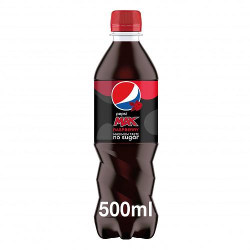 Pepsi Max Raspberry Cola 12 x 500ml