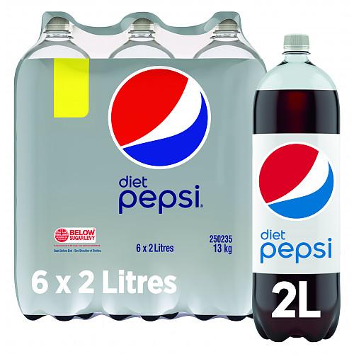 Pepsi Diet Cola 6 x 2L