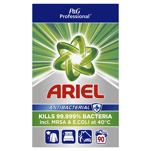 Ariel Professional Powder Detergent Antibacterial 5.85kg 90 Washes