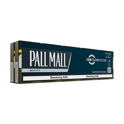 Pall Mall Shift 20 Cigarettes