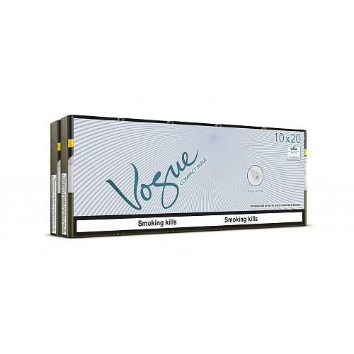 Vogue Compact Bleue 20 Cigarettes