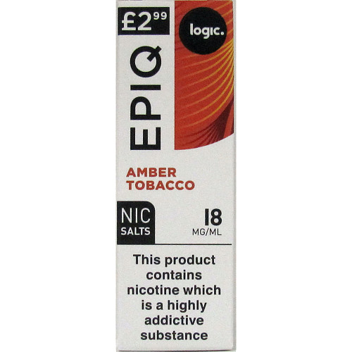 Logic Epiq Amber Tobacco 18Mg