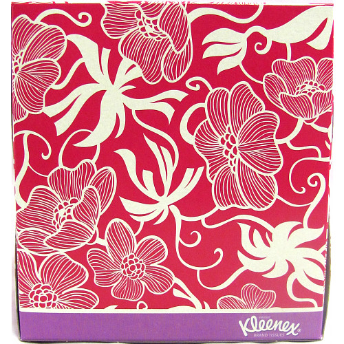 Kleenex® Collection Tissues Cube Single 56 x 3 Ply Tissues