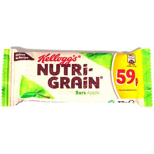 Nutri-Grain Apple PM 59p