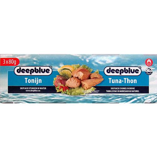 Deep Blue Tuna Chunks In Brine