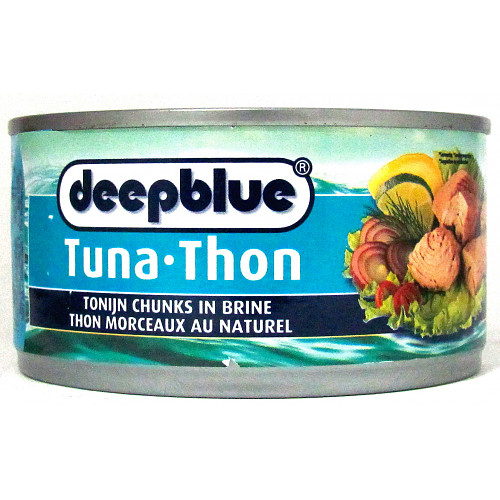 Deep Blue Tuna Chunks In Brine