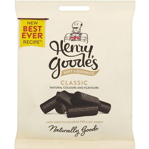 Henry Goode's Superbly Soft Black Liquorice 140g