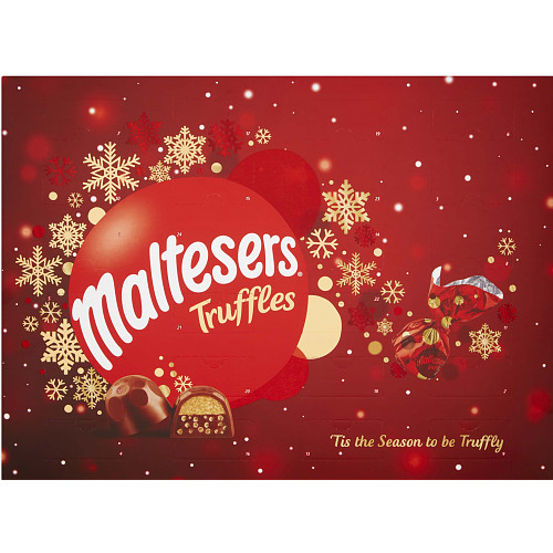 Maltesers Truffles Chocolate Christmas Advent Calendar 218g