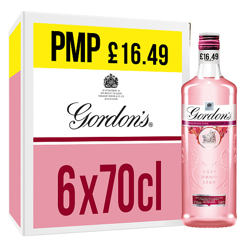 Gordon's Premium Pink Distilled Gin 70cl PM £16.49