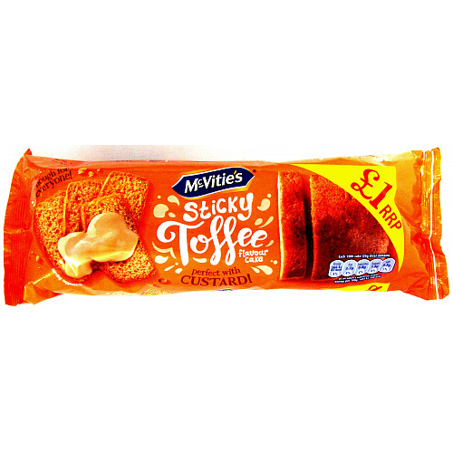 Mcvities Sticky Toffee Cake Extra Large PM £1