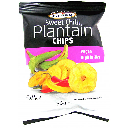 Grace Plantain Sweet Chilli Chips