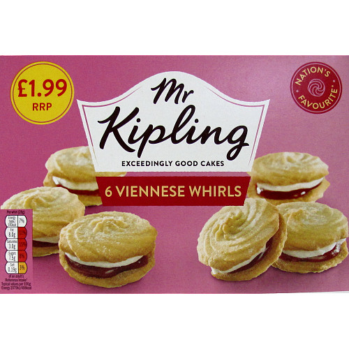 Mr K Viennese Whirl PM £1.99