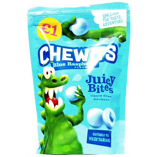 Chewits Blue Raspberry Juicy Bites £1