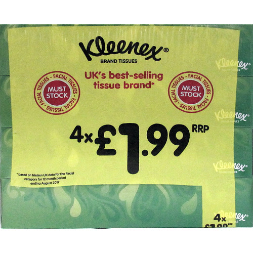 Kleenex® Collection Tissues Cube Single