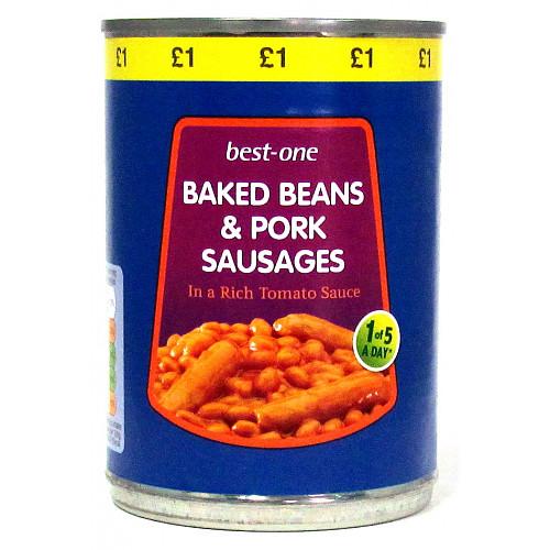 Bestone Beans & Sausages £1