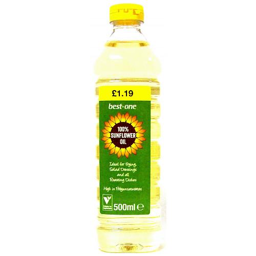 Bestone Sunflower Oil £1.19
