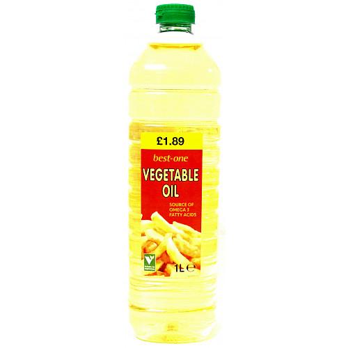 Bestone Vegetable Oil £1.89
