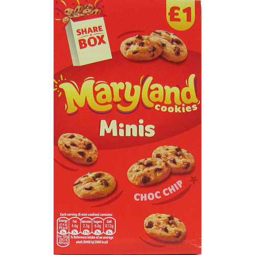 Maryland Minis Choc Chip £1PMP Sharebox
