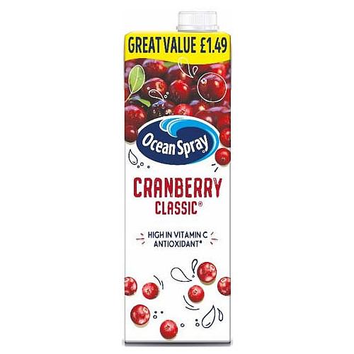 Ocean Spray Cranberry Classic PM £1.49