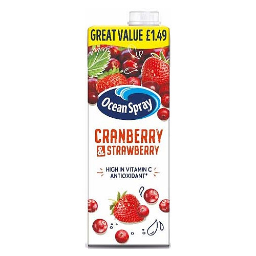Ocean Spray Cranberry & Strawberry PM £1.49