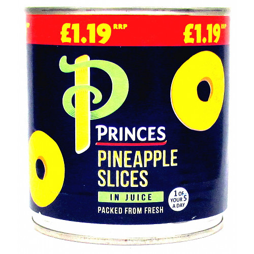 Princes Pineapple Slices In Juice PM £1.19