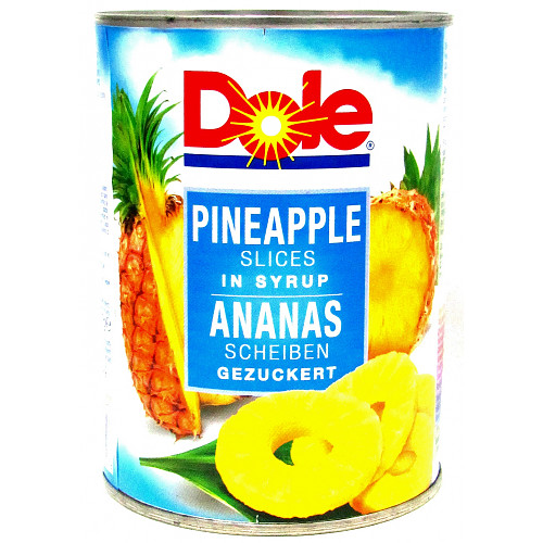 Dole Pineapple Slices Syrup