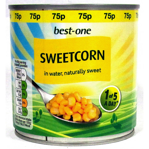 Bestone Sweetcorn PM 75p