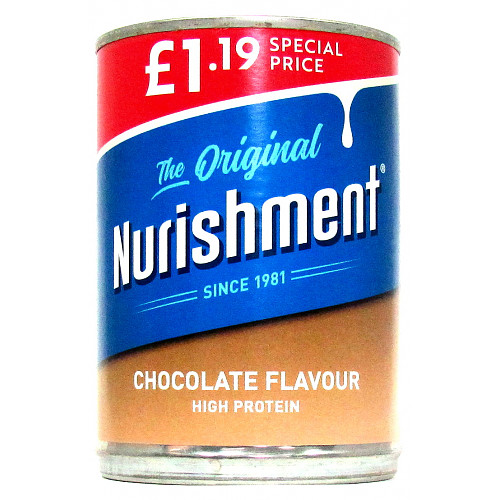 Nurishment The Original Chocolate Flavour £1.19