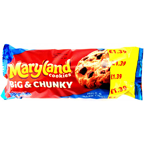 Maryland Big & Chunky Milk & Dark Chip PM £1.39