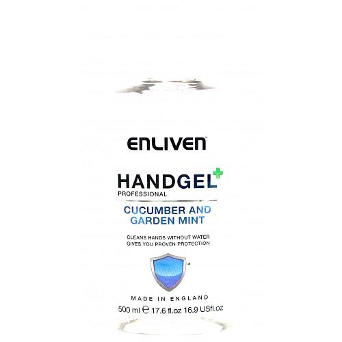 Enliven Hand Gel Mint & Cucumber