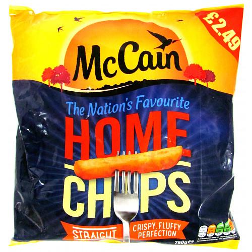 Mccain Straight Cut Home Chips PM £2.49