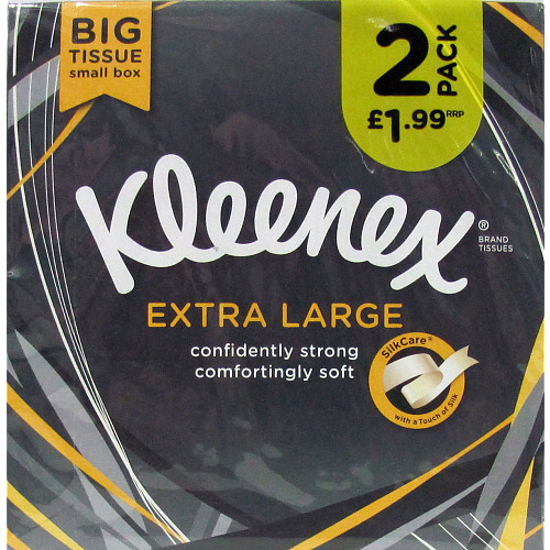 Kleenex Extra Large Tissues Compact PM £1.99